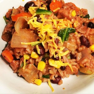 Black Bean & Cheddar Mexican Chicken & Rice