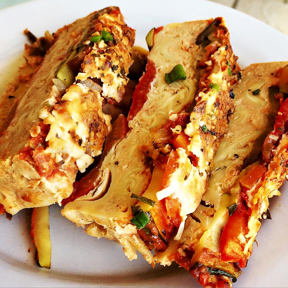 Inside Out Lasagna Chicken Meatloaf | Get Me In The ...