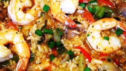 Simple Cajun Rice-a-Foni