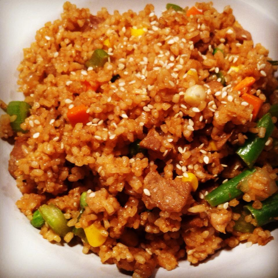 Pork Fried Rice | Get Me In The Kitchen | Cooking Tips and Recipes