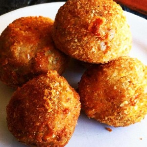 Ric Artichoke and Cheese Croquettes