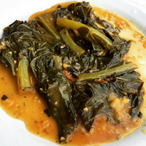 White Wine, Lemon & Butter Braised Collard Greens | Get Me In The ...